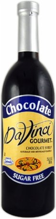 DaVinci Sugar Free Chocolate 750ml Plastic Single Bottle