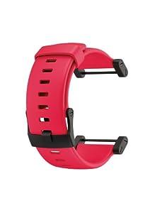 Suunto Ersatzteil Core Rubber Strap, Red, One size, SS018820000