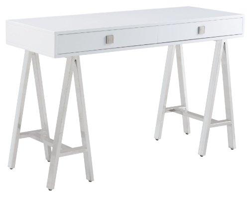 Cheap Embassy White High Gloss Console Table (B009OV202M)