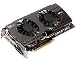MSI NVIDIA GeForce OC 4GB GDDR5 2DVI/HDMI/DisplayPort PCI-Express Video Card (N680GTX TWIN FROZR 4GD5/OC)
