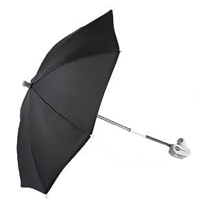 Tippitoes Stroller Umbrella (Black) by Tippitoes