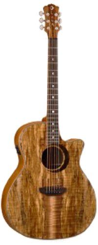 Luna Wl Spalt Acoustic-Electric Guitar
