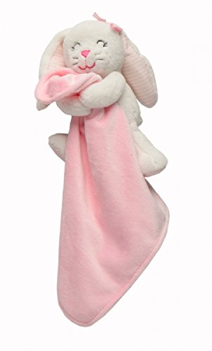 Carter'S Pink Bunny Snuggle Buddy Security Blanket Toy front-134872