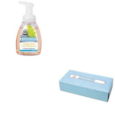 KITBWK6500BWK8600 - Value Kit - Boardwalk Antibacterial Foam Hand Soap (BWK8600) and Boardwalk 6500 Two-Ply Facial Tissue (BWK6500)