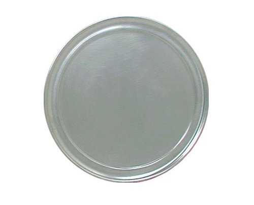 Update International PT-WR12 Aluminum Wide Rim Bake And Serve Pizza Tray, 12-Inch