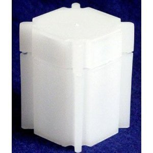Square Dime Coin Tube (10 pack)