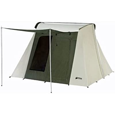 Kodiak Canvas Tent - Six-Person 10x10ft Tent and Tarp 6051 0510