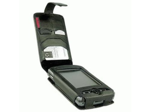 Krusell 75217 HP iPAQ rx3700 series Leather Case Handit with Swivel Clip