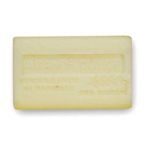 (南仏産マルセイユソープ)SAVON de Marseille スイートアーモンドの香り(SP040)(125g)