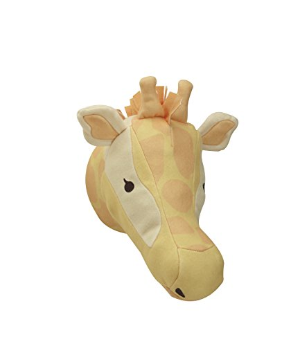 NoJo Zoobilee Plush Head Wall Decor, Giraffe