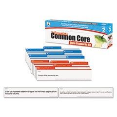 Common Core State Standard Pocket Chart Cards, Language Arts & Math, Grade 2