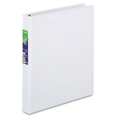 Non-stick round ring poly view binder for 11 x 8-1/2 sheets, 1 cap., white - Buy Non-stick round ring poly view binder for 11 x 8-1/2 sheets, 1 cap., white - Purchase Non-stick round ring poly view binder for 11 x 8-1/2 sheets, 1 cap., white (Samsill, Office Products, Categories, Office & School Supplies, Binders & Binding Systems, Binders, Presentation Books)