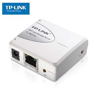 Network Print and Storage Server w/ 1 USB2.0 Port TP-Link PS310U