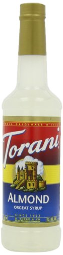 Torani Syrup, Orgeat (Almond), 25.4-Ounce Bottles (Pack Of 3) front-139297