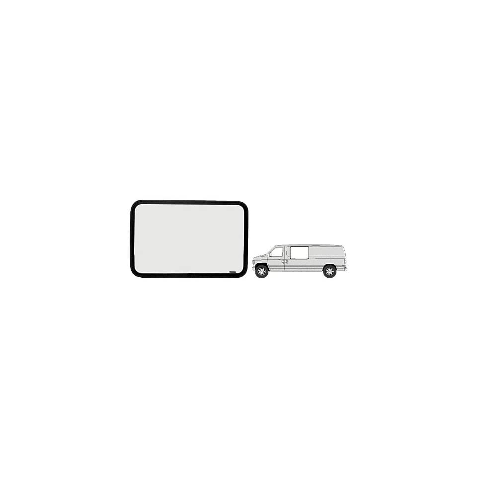 CRL Fixed Window   Driver Side Forward 1975 1991 Ford Vans
