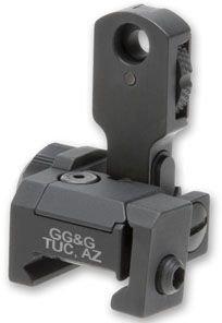 Gg&G Mad Flip Up Rear Sight - Trijicon Tritium Night Sights Ggg-1006T