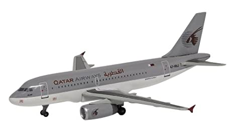 DRAGON 1/400 A319 Qatar Airways (japon importation)