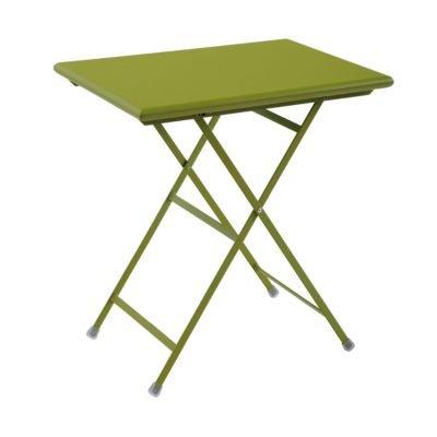 Arc en Ciel Klapptisch rechteckig 70 x 50 cm grün matt günstig kaufen