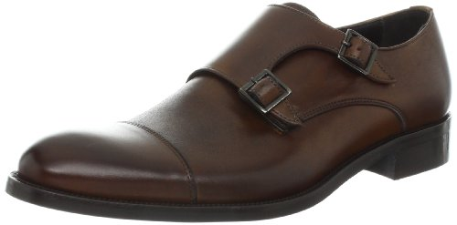To Boot New York Men's Johnston Double Monk,Berry 38 light,10 M US