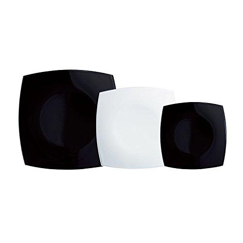 luminarc-quadrato-vajilla-18-piezas-mas-ensaladera-color-negro-y-blanco