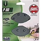 ali industries 12281 Shopsmith, 3 Pack, 5 -Inch, 8 Hole, 80 Grit, Hook and Loop Sanding Disc,