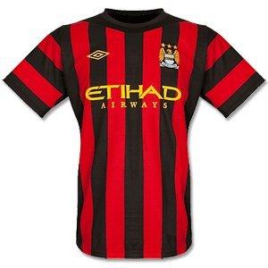 11-12 Man City Away Shirt-46