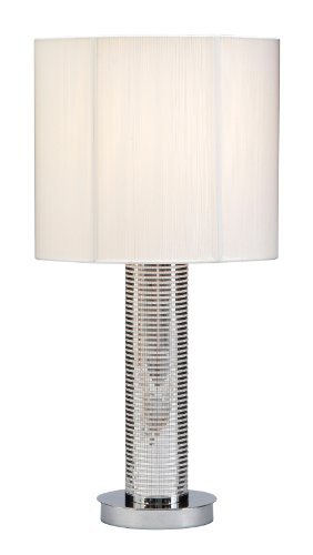 Neo Modern Table Lamp Color: Silver