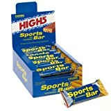 High 5 Sports Bar 55g Box of 25 Bars Caramel/Choc