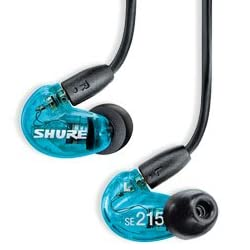 SHURE SE215 Special Edition (SE215SPE-A トランス・ルーセント・ブルー)