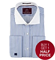 Sartorial Luxury Pure Cotton Bold Striped Winchester Shirt