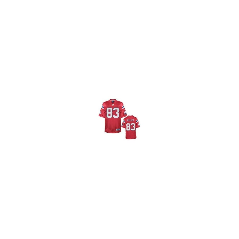 a3ca4c02 Reebok New England Patriots Wes Welker Authentic Alternate Jersey ...