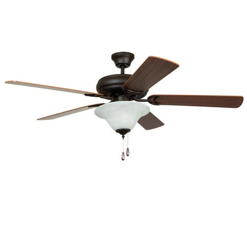 Ellington E-DCF52FBZ5C1 Decorator's Choice 52 in. Indoor Ceiling Fan - French Bronze