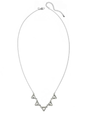Autograph Triangular Pendant Necklace MADE WITH SWAROVSKI® ELEMENTS