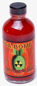 Da Bomb Ghost Pepper Hot Sauces from HOT SAUCES N MORE