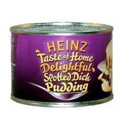 Heinz Spotted Dick Pudding 10 oz 300g Tin