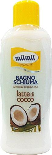MIL MIL Bagno Schiuma Latte Di Cocco 1000 Ml