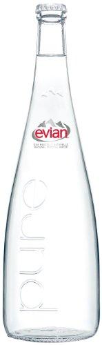 (お徳用ボックス) エビアン ミネラルウォーター 瓶 750ml×12本