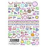 ツメキラ ツメッセージ ENG カラフル NNーMSGー104