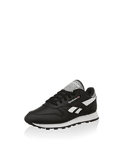 Reebok Zapatillas Classic Pop Negro / Blanco