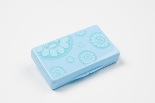 Uber Mom Tissue Box, Blue Rosetta - 1