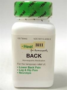 Heel - Back - 100 tablets