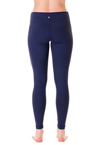 90 Degree by Reflex Power Flex Yoga Pants - Navy - Large
