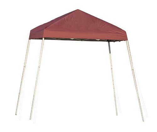 ShelterLogic 8x8 Slant Leg Pop Up Canopy (Red)