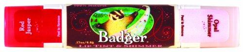 Badger リップティント-0 - shimmer red Jasper