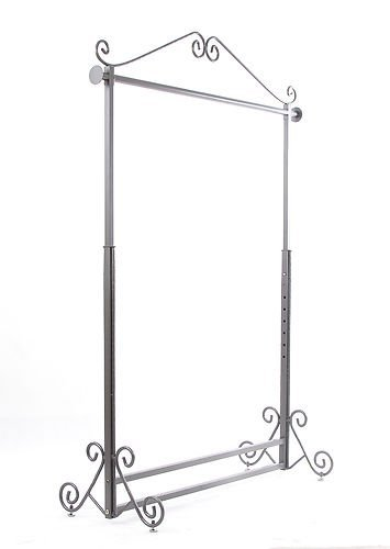 Brand New Free Standing Decorative Antique Bronze Iron Garment Coat Rack (Y002C BRONZE) 5