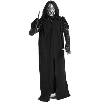 Rubies Costumes Unisex Harry Potter - Death Eater Deluxe Adult Costume