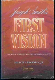 Image for Joseph Smith's 1st Vision: Confirming Evidences and Contemporary Accounts