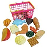 Large Playfood Set in Basket