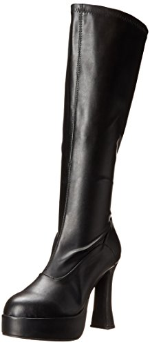 Ellie Shoes Women's Chacha Snow Boot, Black Matte, 9 M US