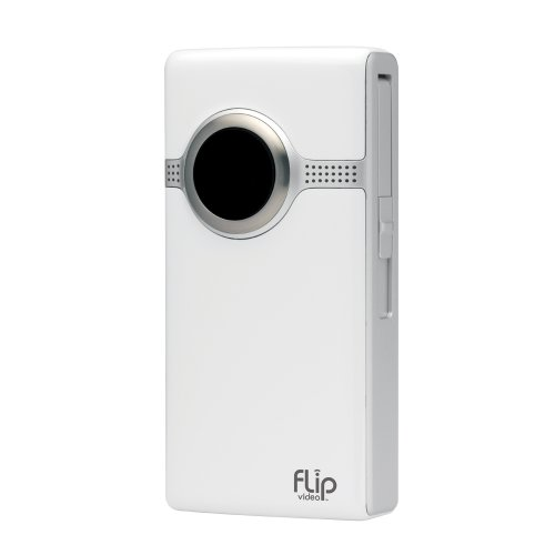 Flip Ultra HD 3rd Generation 120 minutes recording, 8GB Memory & Image Stabilisation - White